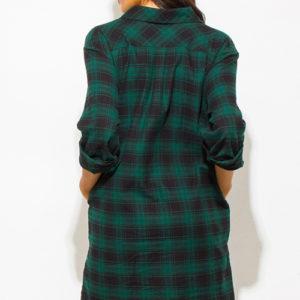 Checker Plaid Tunic